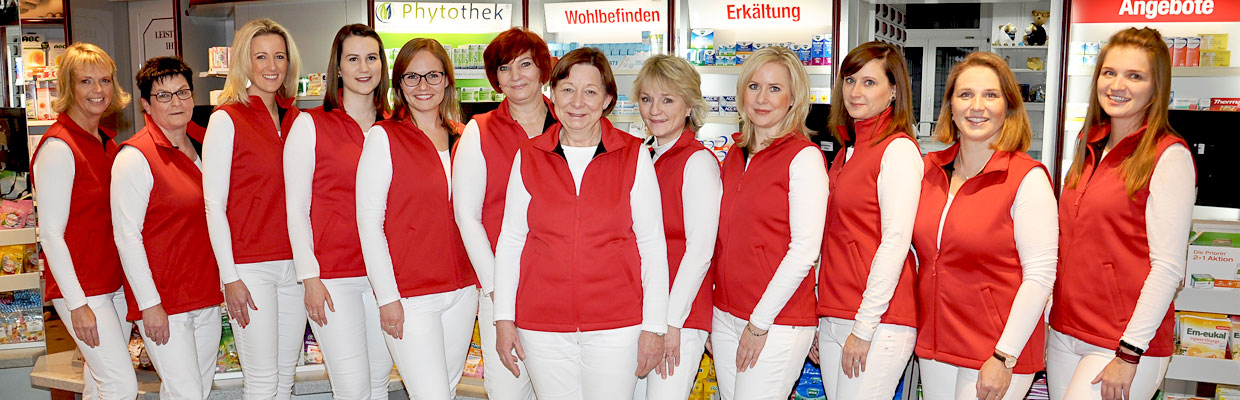 Team der Raths-Apotheke Brandenburg an der Havel